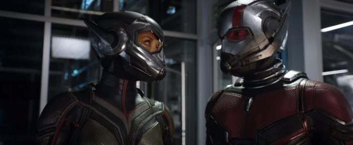 Ant Man the Wasp team up