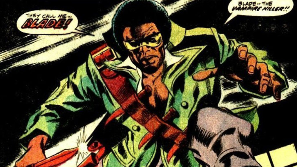 Blade the Vampire Slayer Introduced!