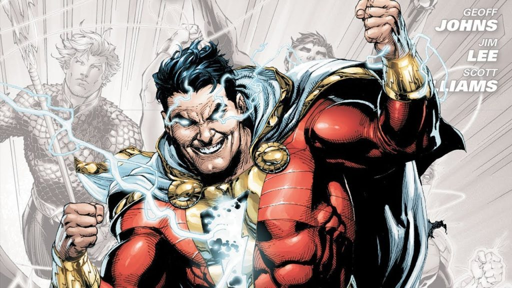 Billy Batson gets a cover showing him as Captain Marvel in DC's New 52