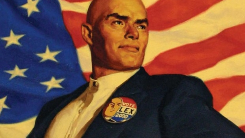 Lex Luthor elected president