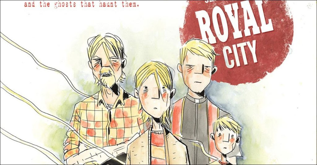 Jeff Lemire's new Image series Royal City