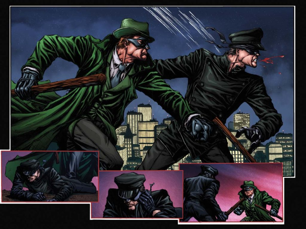 Green Hornet comic books