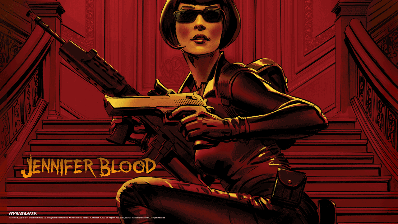Jennifer Blood comic books