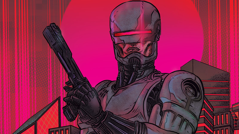 robocop comic books