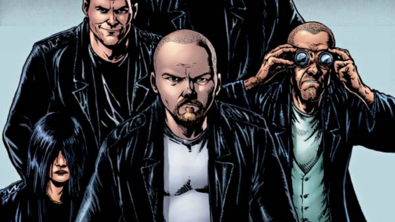the boys comic book written by Garth Ennis