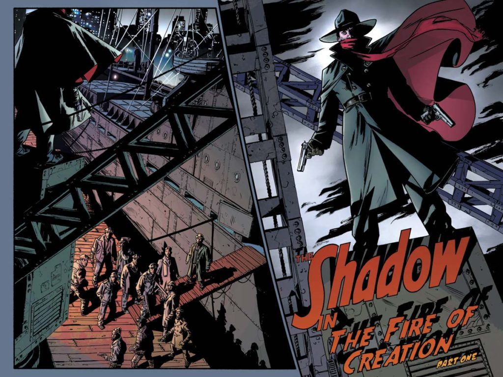 The Shadow comic books by Dynamite Entertainment