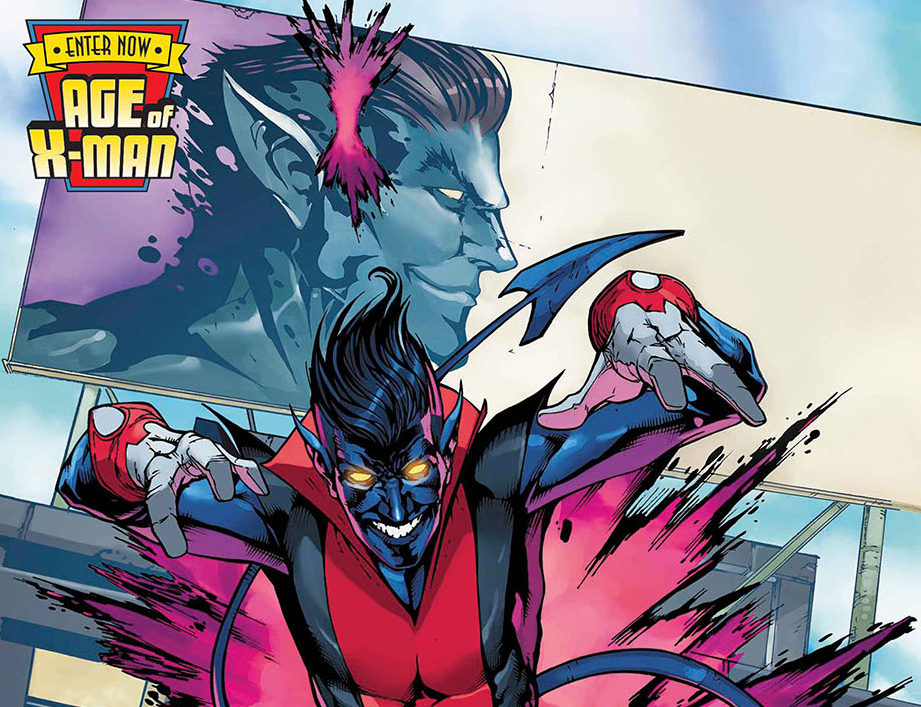 The Amazing Nightcrawler during Marvel's Age of X-Man event