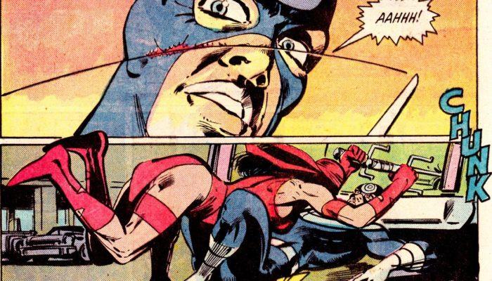 Bullseye vs Elektra in Frank Miller's Daredevil comics