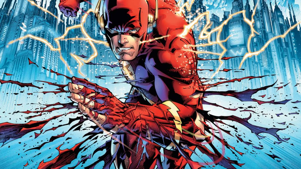Barry Allen runs in flashpoint
