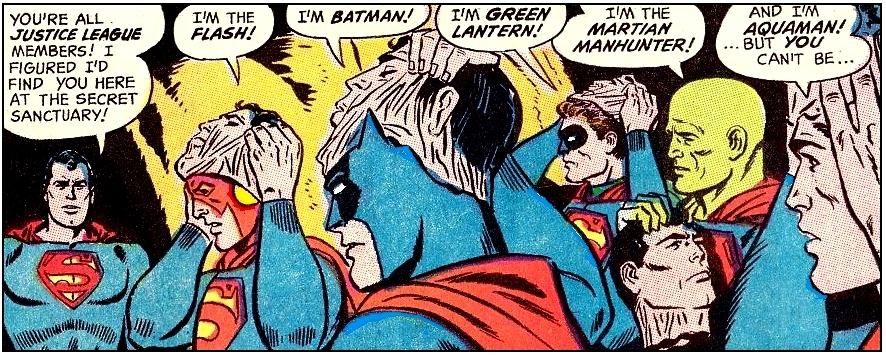 Martian Manhunter in the DC Comics Justice League