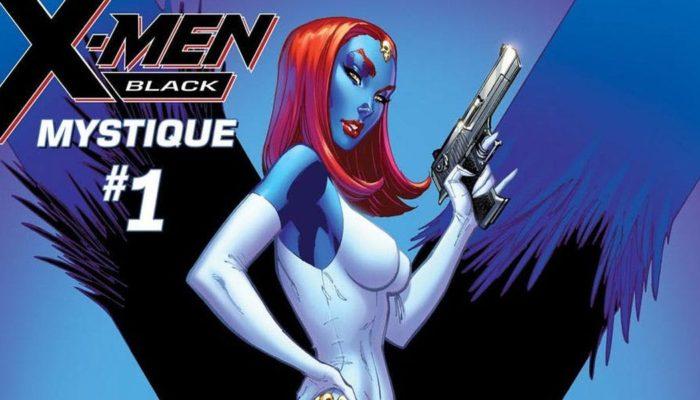 Mystique as a profiled villain in X-Men Black