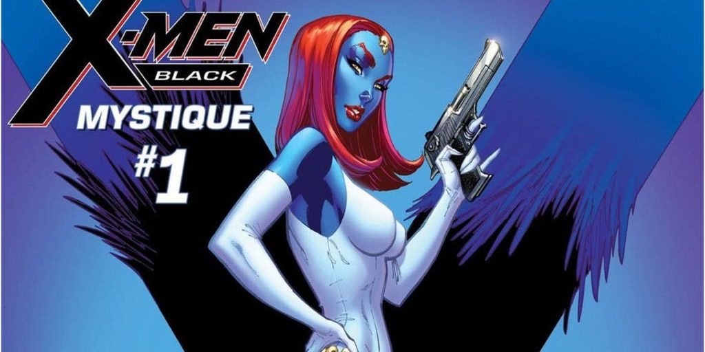 Mystique as a profiled villain in X-Men Black
