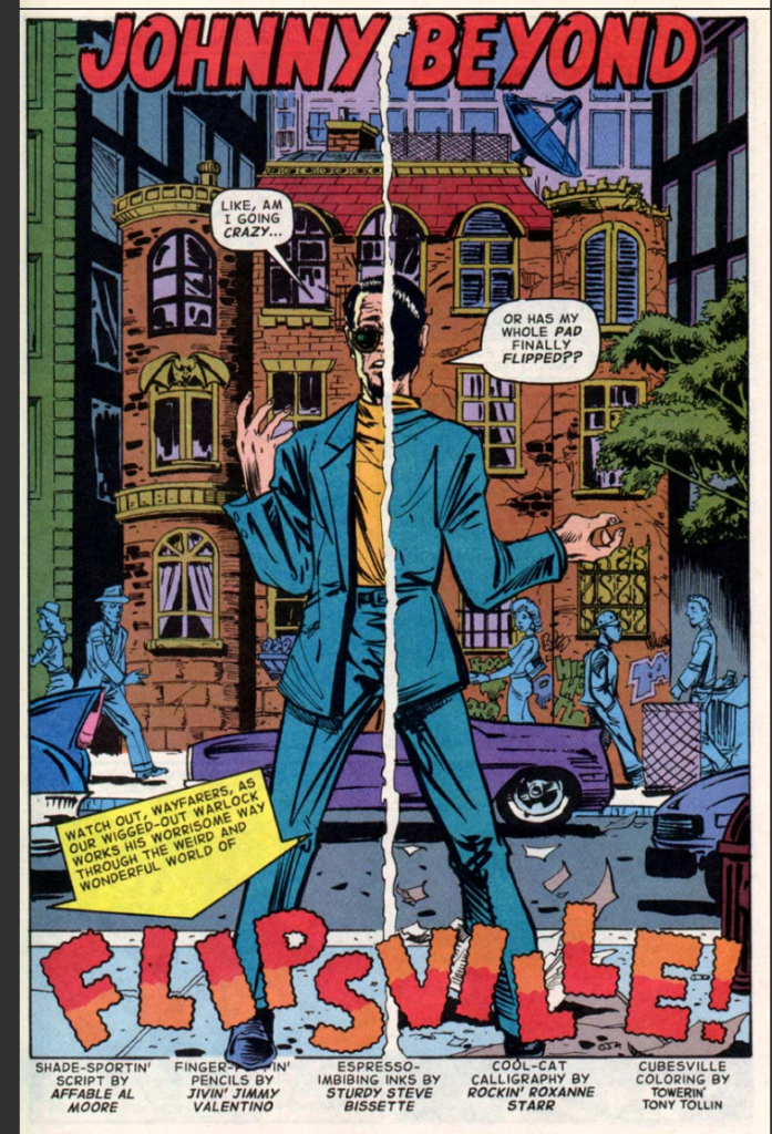 Alan Moore's 1963 comic series for Image Comics