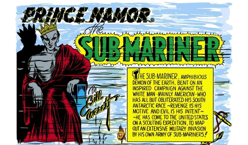 Namor's Marvel Comics debut