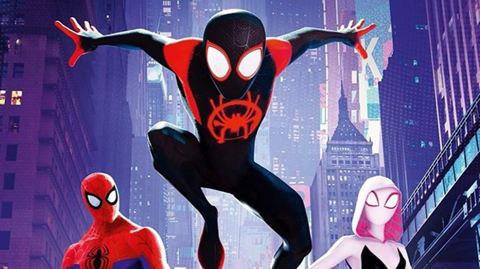 Miles Morales in Into the Spider-Verse