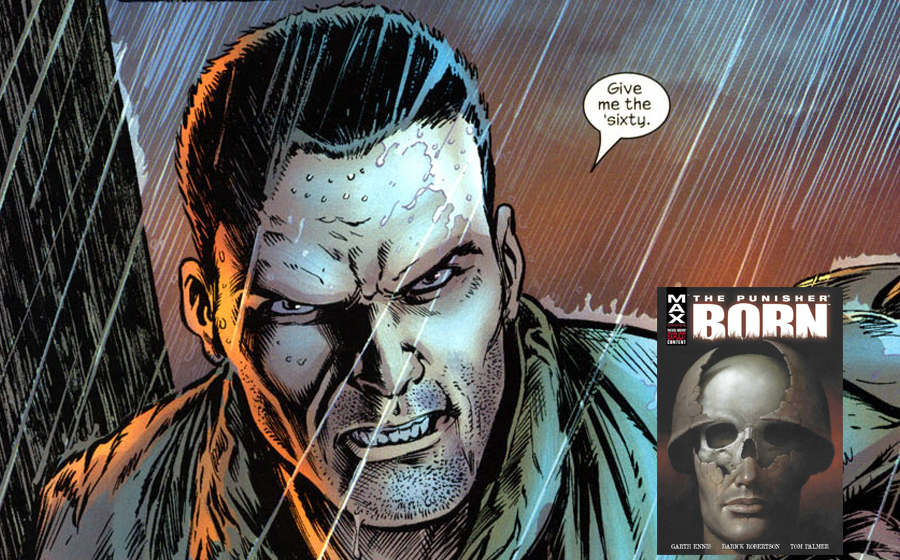 Punisher origins in Born