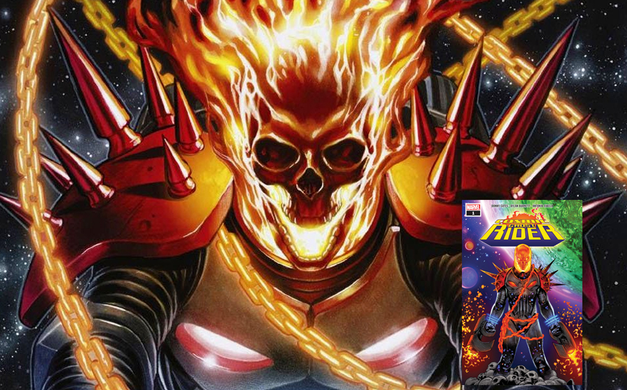 Cosmic Ghost Rider is actually Frank Castle!