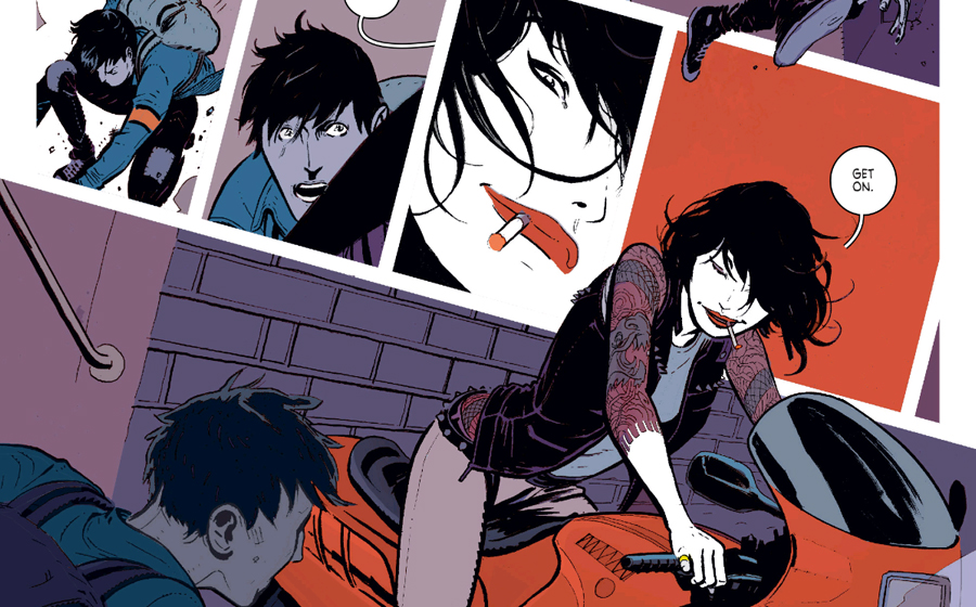Deadly Class comics written by Rick Remender