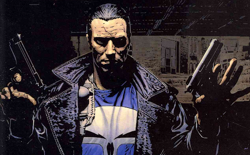 The Punisher in Welcome Back Frank by Garth Ennis and Steve Dillon