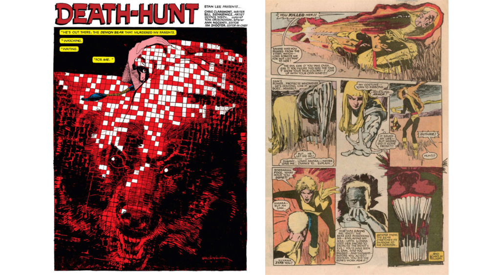 the New Mutants Demon Bear saga