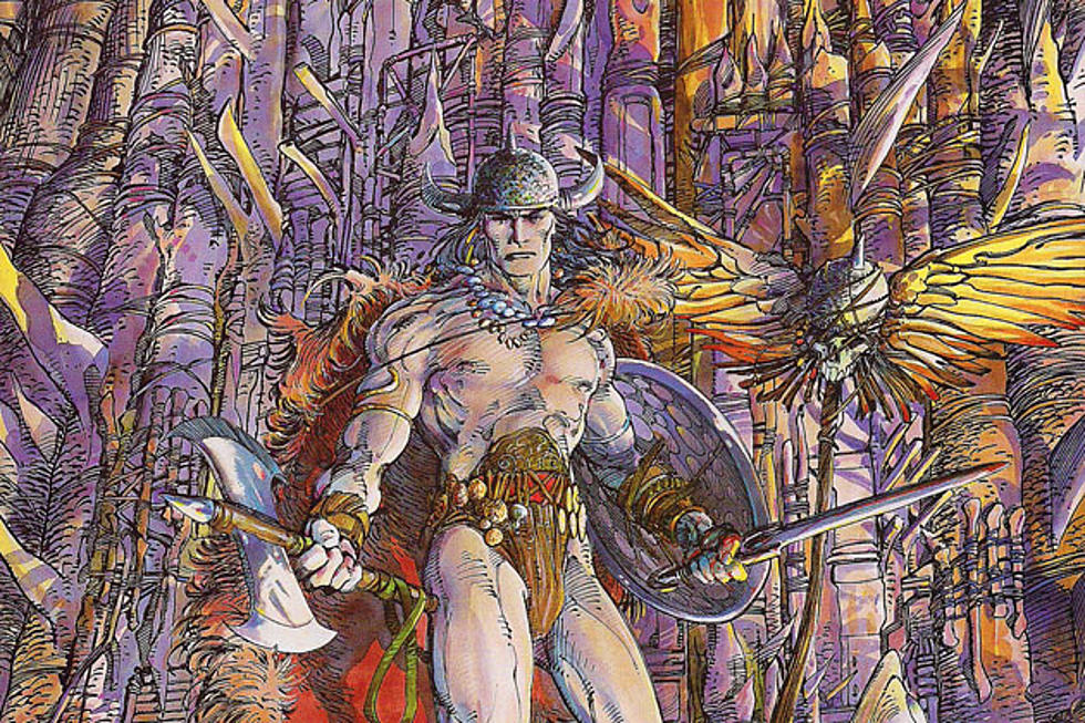 Conan the Barbarian comics by Barry Windsor Smith