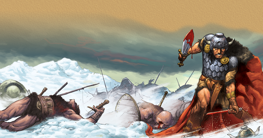 Dark Horse era Conan the Barbarian comics