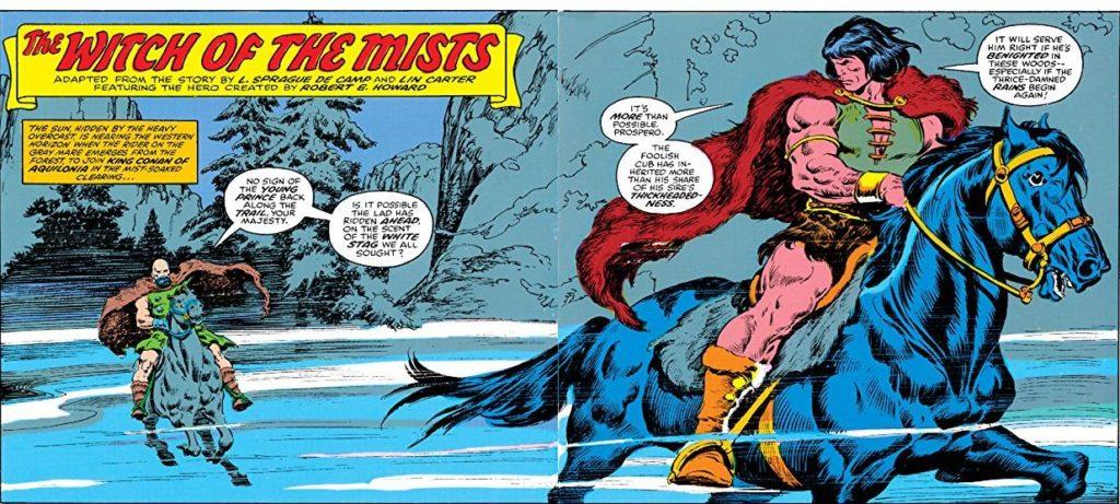 80s King COnan comic books