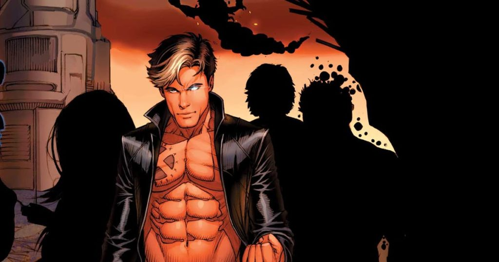 New Mutants during Regenesis add X-Man