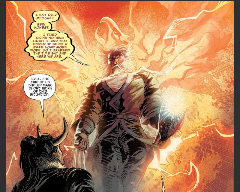 Wolverine as the Phoenix