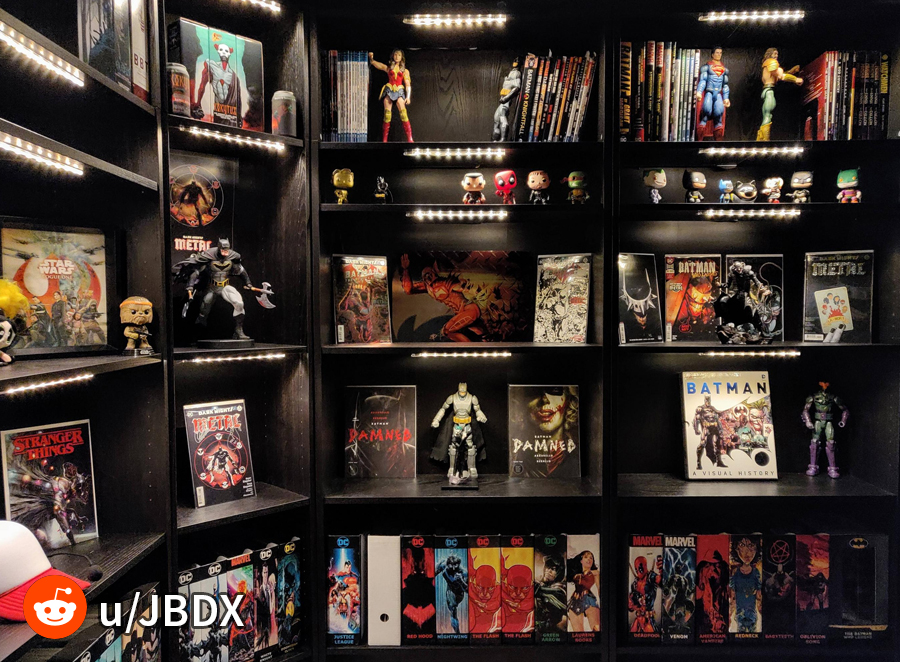 Cool comic book storage ideas!