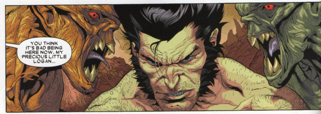 Wolverine in Hell!