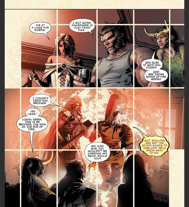 Wolverine in the pages of Infinity Wars