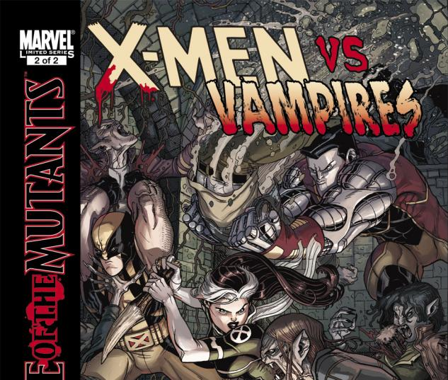 The X-Men fight vampires in Curse of the Mutants