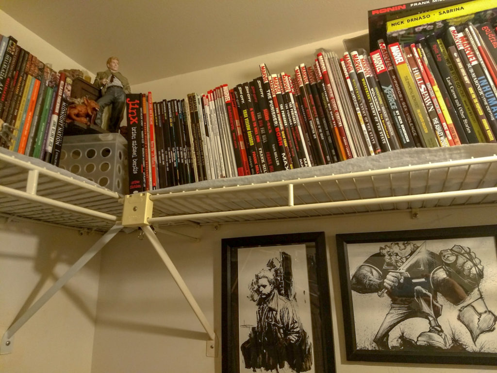 John G's comics collection!