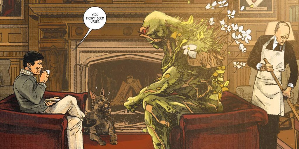 "swamp thing in the ""the Brave and the Mold"""
