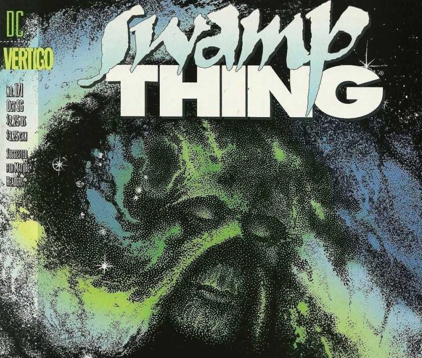 Swamp Thing written by Mark Millar