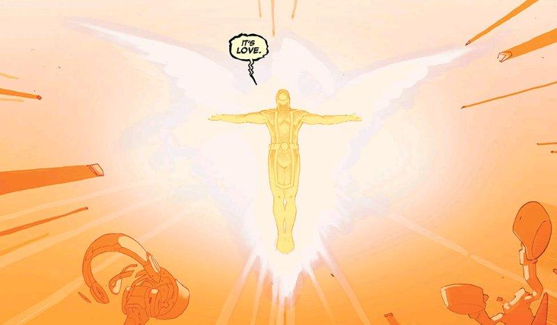 Cyclops becomes Phoenix in Secret Wars