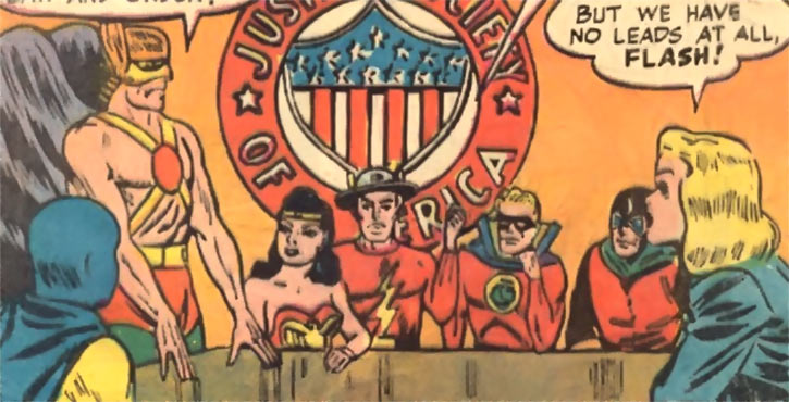 DC Comics debuts the Justice Society of America