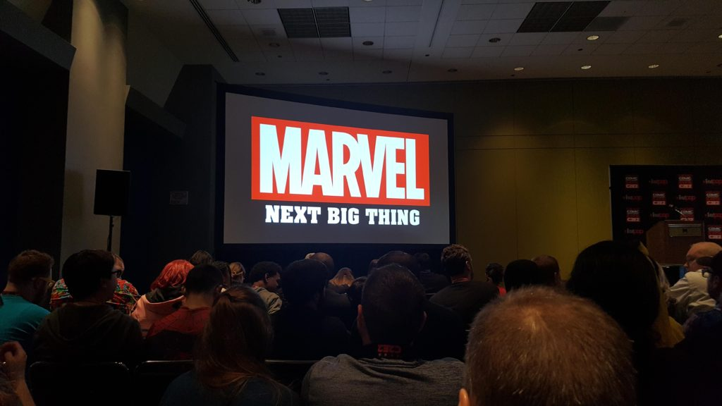 Marvels next big thing panel at c2e2