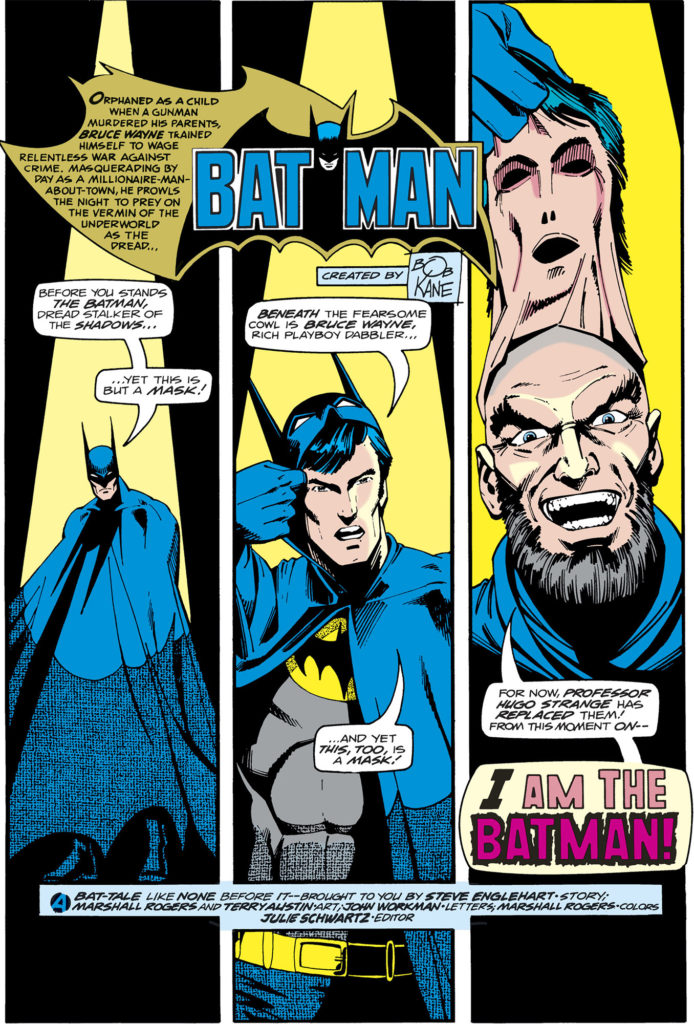 Dark Detective - Steve Englehart vs DC Comics, and Everyone
