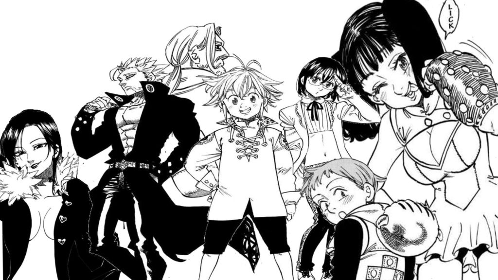 The Seven Deadly Sins Cast