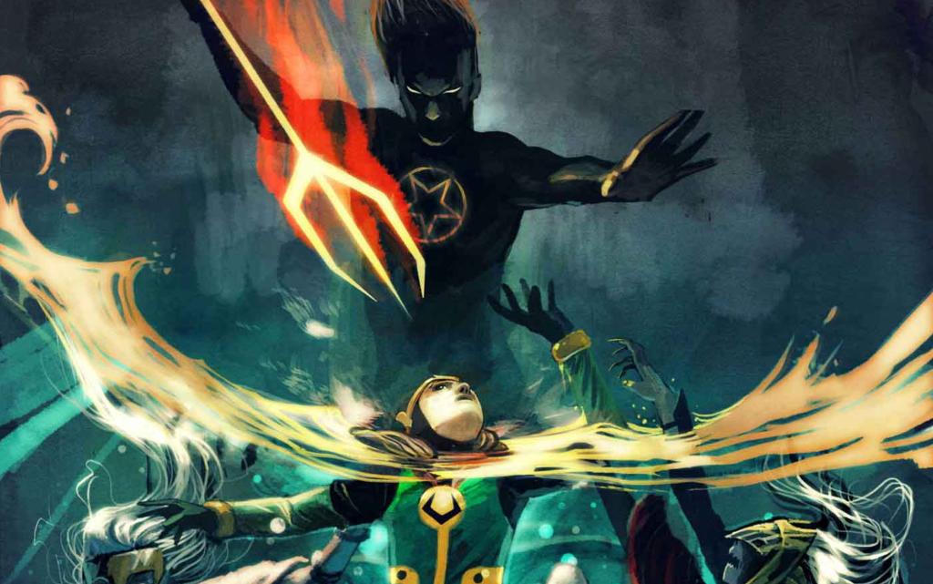 Kid Loki takes on the Son of Satan