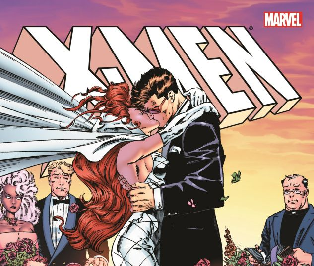 The Wedding of Jean Grey and Scott Summers in X-men