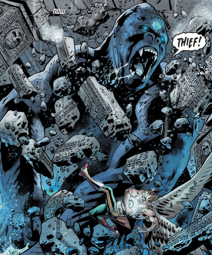 Bryan Hitch art on DC's ongoing Hawkaman series