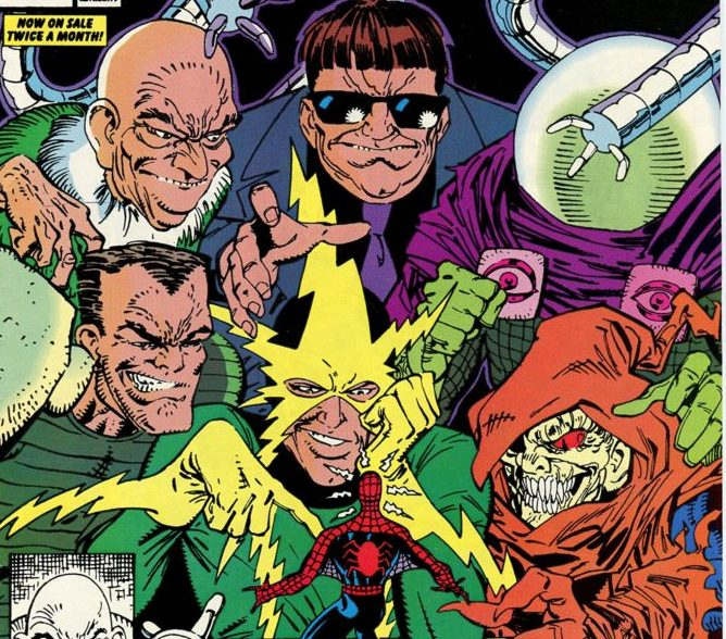 Spider-Man vs the new Sinister Six