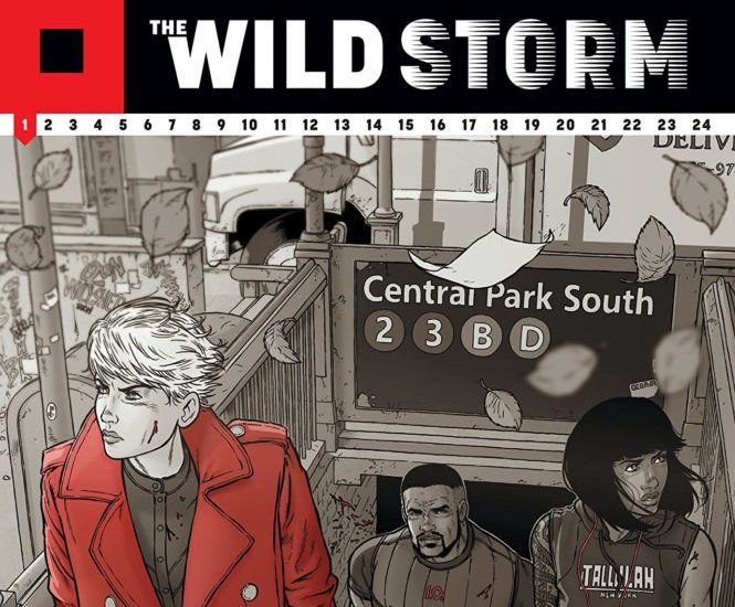 The Wild Storm written by Warren Ellis