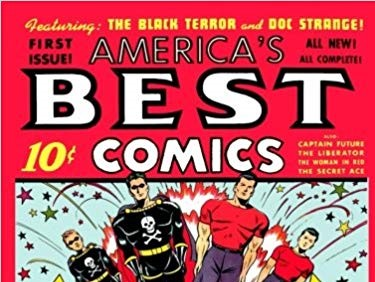 Doc Strange The Black Terror America/'s Best Comics #4 Photocopy Comic Book