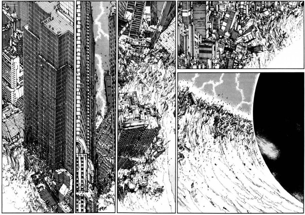 Katsuhiro Otomo Building A Destroyed Future Comic Book Herald