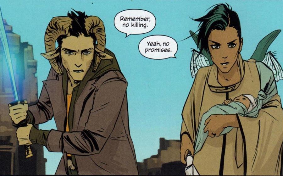Image Comics Saga