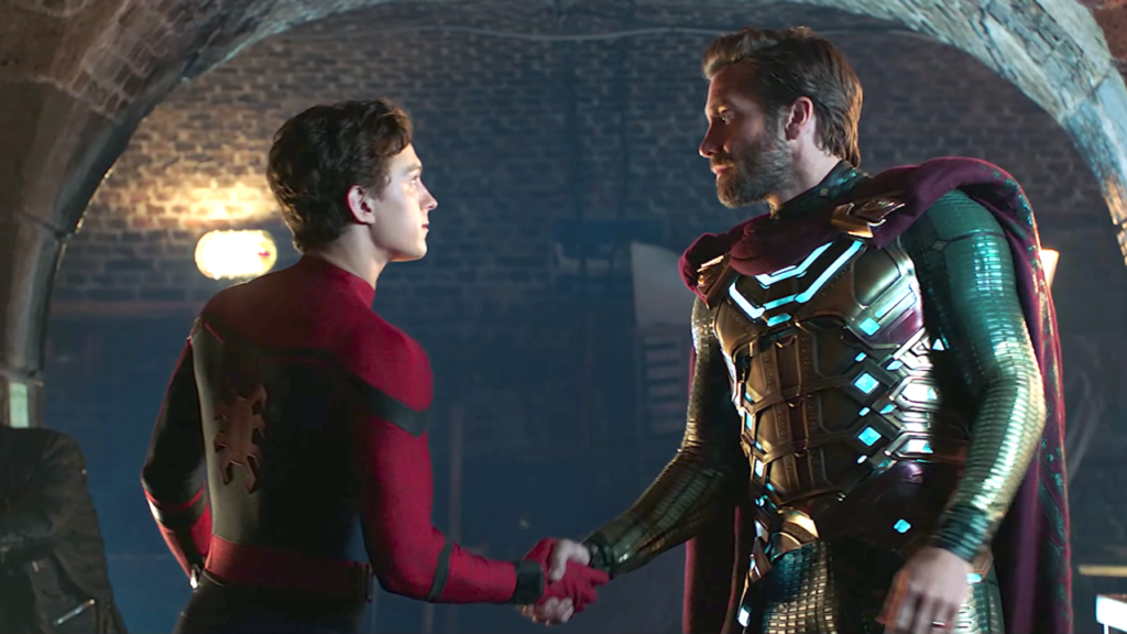 Spider-Man meets Mysterio in Far From Home